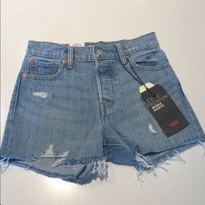 Levi's wedgie shorts high rise size 26